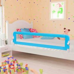 Sonata Ограничител за бебешко легло, син, 180x42 см, полиестер - Мебели за детска стая