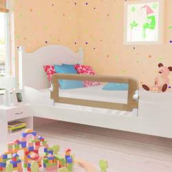 Sonata Ограничител за бебешко легло, таупе, 120x42 см, полиестер - Мебели за детска стая