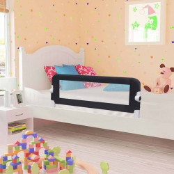 Sonata Ограничител за бебешко легло, сив, 120x42 см, полиестер - Мебели за детска стая