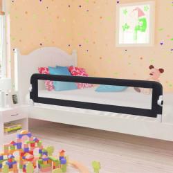 Sonata Ограничител за бебешко легло, сив, 180x42 см, полиестер - Мебели за детска стая