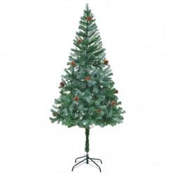 Sonata Изкуствено коледно дърво с шишарки, 180 см - Сезонни и Празнични Декорации