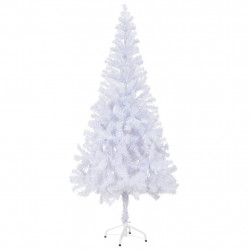 Изкуствена елха с пластмасова стойка и 620 клона,180 см - Сезонни и Празнични Декорации