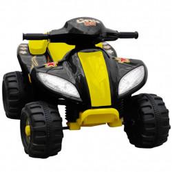 Детско електрическо АТВ, жълто-черно - Детски превозни средства