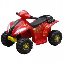 Детско електрическо АТВ, червено-черно - Детски превозни средства