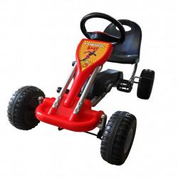 Sonata Детски картинг с педали, цвят червен - Детски превозни средства