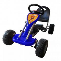 Sonata Детски картинг с педали, цвят син - Детски превозни средства