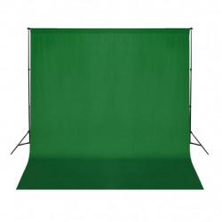 Sonata Фотографски фон, памук, зелен, 300х300 см, Chroma Key - Обзавеждане на Бизнес обекти