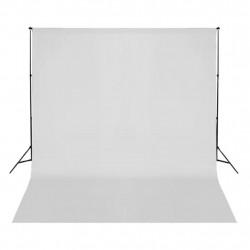 Sonata Фотографски фон, памук, бял, 300х300 см - Обзавеждане на Бизнес обекти