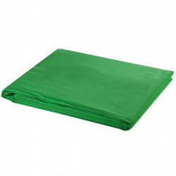 Sonata Фотографски фон, памук, зелен, 500х300 см, Chroma Key - Обзавеждане на Бизнес обекти