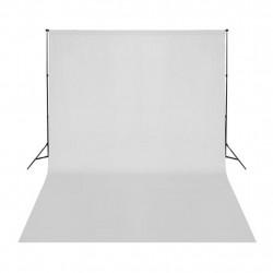 Sonata Фотографски фон, памук, бял, 500х300 см - Обзавеждане на Бизнес обекти