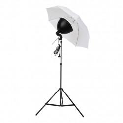 Sonata Комплект студийно осветление: чадъри, лампи и стативи - Обзавеждане на Бизнес обекти