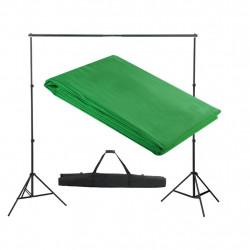 Sonata Фонова система, 300 х 300 см, зелен фон - Обзавеждане на Бизнес обекти