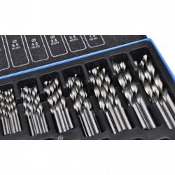 Комплект от 170 бр. свредла в метална кутия HSS EC - Градинска техника
