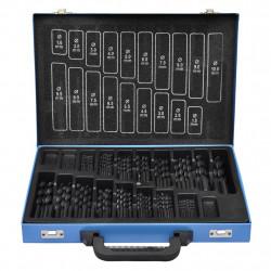 Комплект от 170 бр. свредла в метална кутия HSS R - Градинска техника