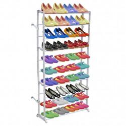 Рафт за обувки с 10 нива - Шкафове за обувки