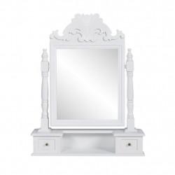Sonata Тоалетка с регулируемо правоъгълно огледало, МДФ - Тоалетки