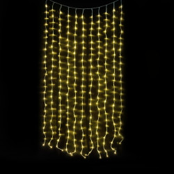 Мрежа от 300 коледни LED лампички, 5.9 х 0.42 м. - Сезонни и Празнични Декорации