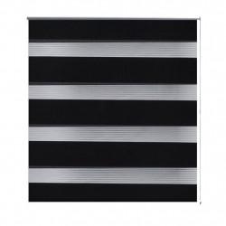 """Щора """"Зебра"""" 70 х 120 см, цвят черен - Щори"""
