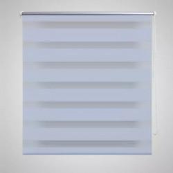 """Щора """"Зебра"""" 100 х 175 см, цвят бял - Щори"""