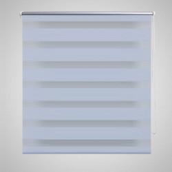"""Щора """"Зебра"""" 120 х 230 см, цвят бял - Щори"""
