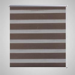 """Щора """"Зебра"""" 120 х 230 см, цвят кафе - Щори"""
