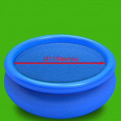 Sonata Плаващо соларно кръгло покривало за басейн, PE, 381 см, синьо - Басейни и Спа