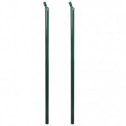 Комплект железни колове за ограда, 115 см, 2 бр - Огради