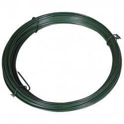 Sonata Тел за привързване на ограда, 25 м, 1,4/2 мм, стомана, зелена - Огради