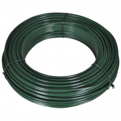 Sonata Тел за привързване на ограда, 55 м, 2,1/3,1 мм, стомана, зелена - Огради