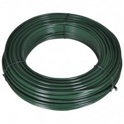 Sonata Тел за привързване на ограда, 80 м, 2,1/3,1 мм, стомана, зелена - Огради