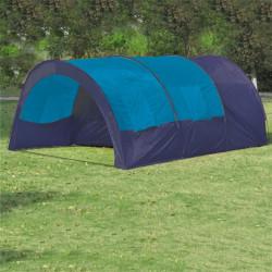 Полиестерна палатка за къмпинг за 6 човека, цвят тъмносин - Палатки