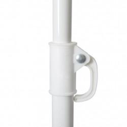 Плажен чадър, 180 см, син - Сенници и Чадъри