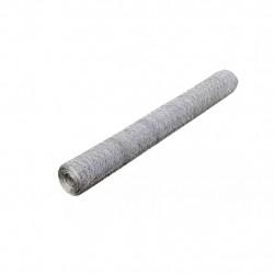 Шестоъгълна телена мрежа 50 см х 25 м, PVC покритие 0,75 мм / 36 мм - Огради