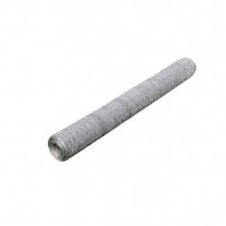 Шестоъгълна телена мрежа 50 см х 25 м, PVC покритие 0,75 мм / 50 мм - Огради
