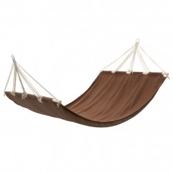 Хамак с дървени летви, 210 x 150 см, кафяв - Люлки и Хамаци