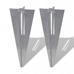 Клинове за прави колове – 2 броя - Огради