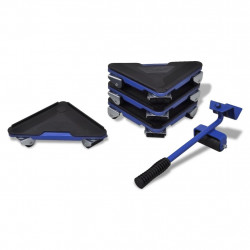 Комплект за транспортиране на мебели – повдигащ лост и ъгли на колелца - Инструменти