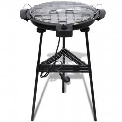 Електрическо кръгло барбекю на стойка - Камини, Комини и Печки на дърва
