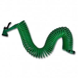 Спираловиден гъвкав маркуч със струйник – 15 м. - Поливане, Напояване