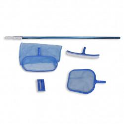Комплект с почистващи глави и телескопична дръжка за басейни - Басейни и Спа