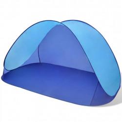 Сгъваема плажна палатка, водоустойчива, светлосиня - Палатки