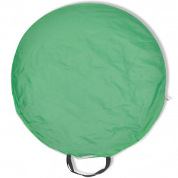 Сгъваема плажна палатка, водоустойчива, зелена - Палатки