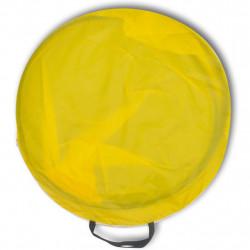 Сгъваема плажна палатка, водоустойчива, жълта - Палатки