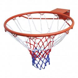 Баскетболен кош с мрежа, цвят оранжев - Спортове на открито