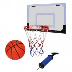 Мини баскетболен кош за закрито в комплект с топка и помпа - Детски играчки
