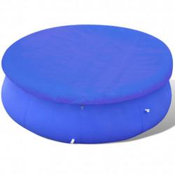 Sonata Покривало за басейн от PE, кръгла форма, 300 см, 90 g/m2 - Басейни и Спа