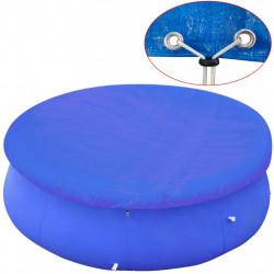 Sonata Покривало за басейн от PE, кръгла форма, 360-367 см, 90 g/m2 - Басейни и Спа