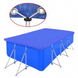 Покривало за басейн от PE, правоъгълна форма, 394 х 207 см, 90 g/m2 - Басейни и Спа
