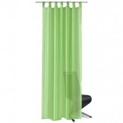 Зелени прозрачни завеси 140 х 225 см – 2 броя - Завеси, Пердета и Кoрнизи