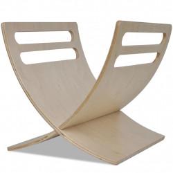 Sonata Дървена стойка за списания, цвят натурално дърво - Аксесоари за Всекидневна